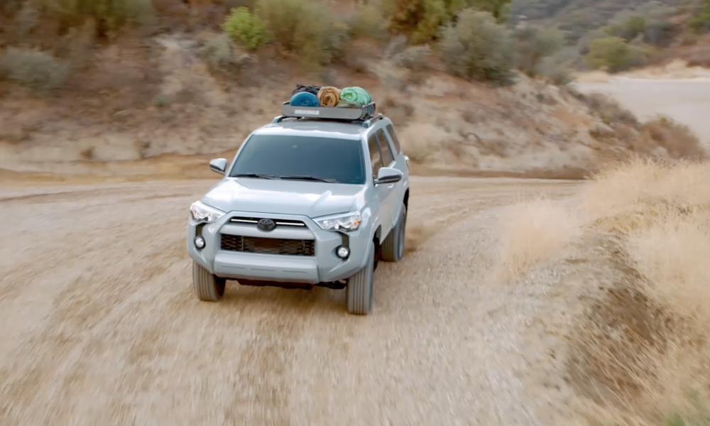 2021_TOYOTA 4RUNNER TRAIL EDITION B-ROLL