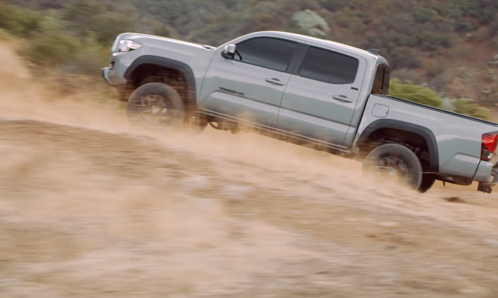 2021_TOYOTA_TACOMA TRAIL EDITION B-ROLL