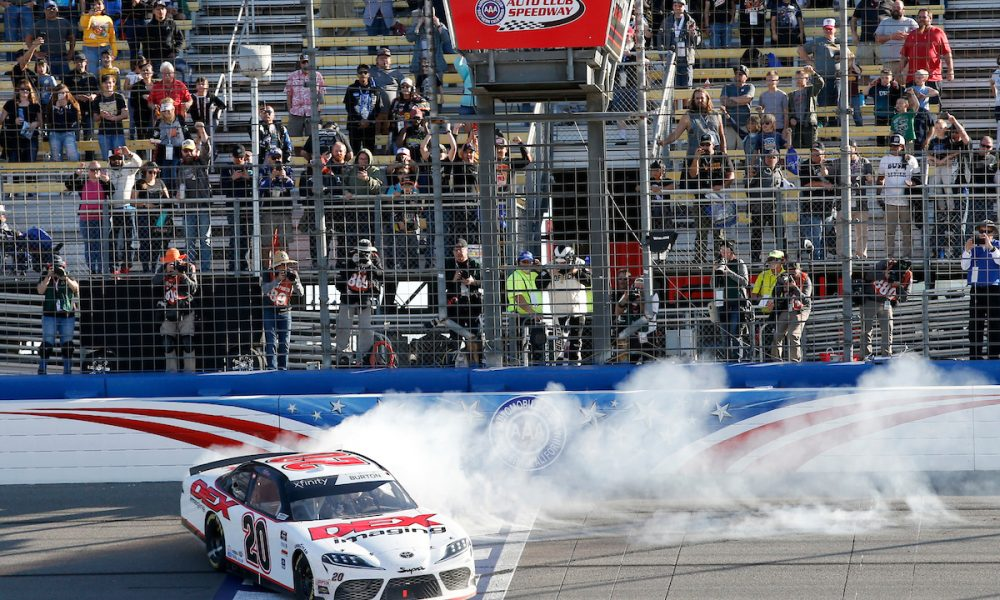 Harrison Burton Scores First Xfinity Win