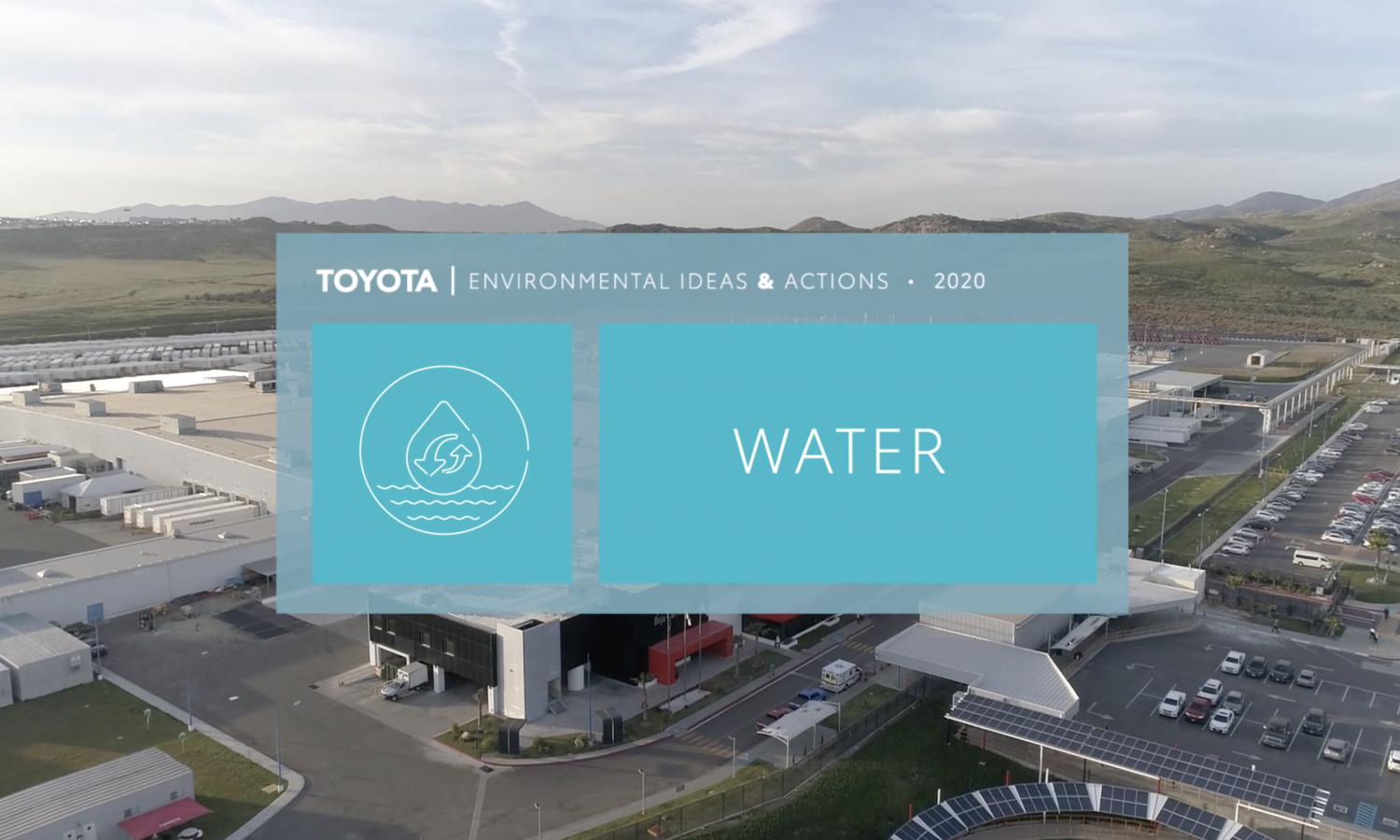 How This Toyota Plant Recycles Millions of Gallons of Water Every Year
