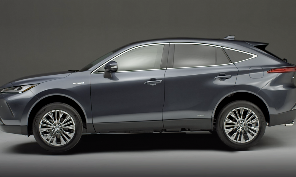 2021 Toyota Venza_Exterior BRoll