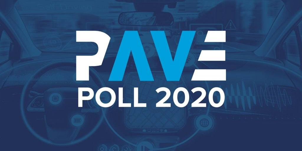 PAVE Releases Public Perception of Automated Vehicles Results