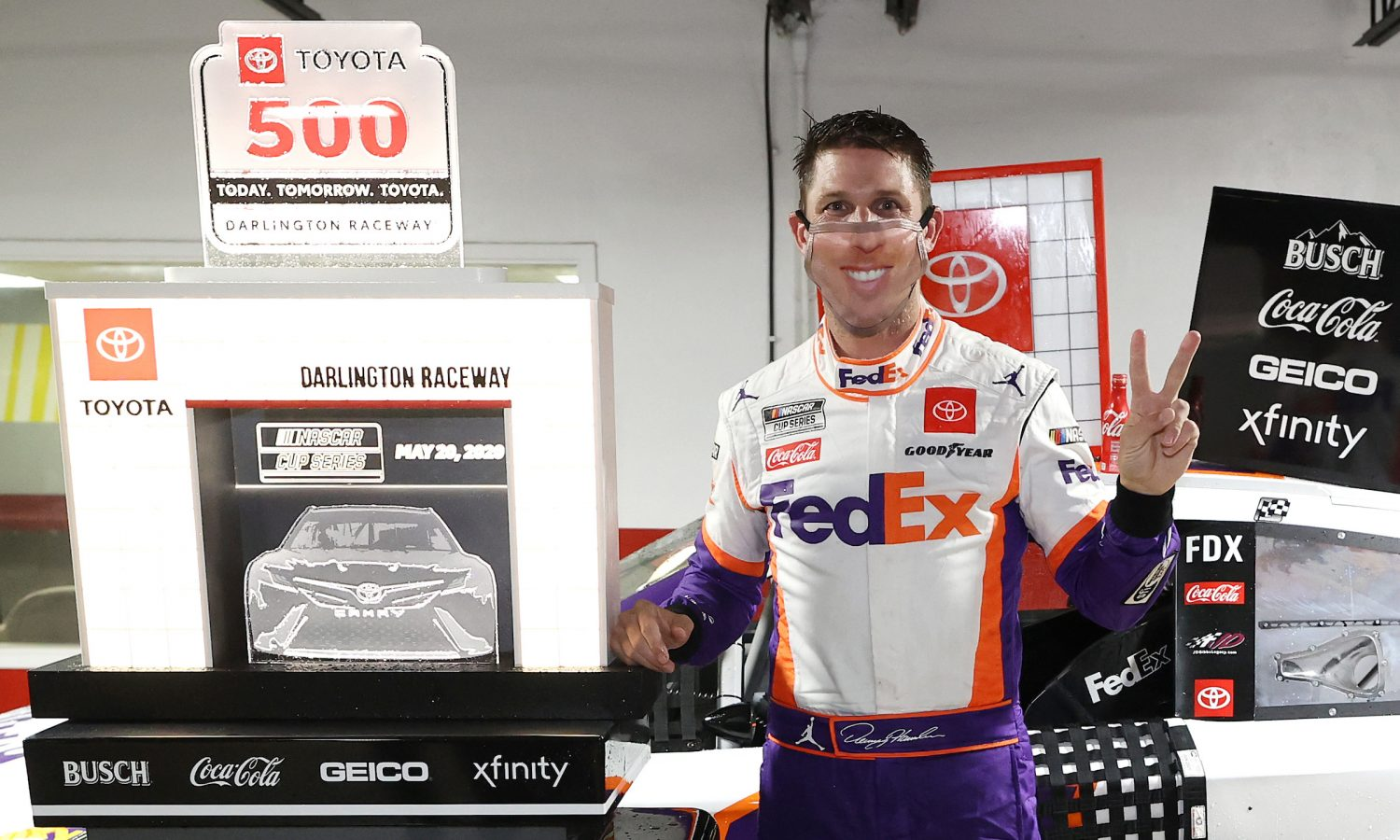 Denny Hamlin Delivers at Darlington