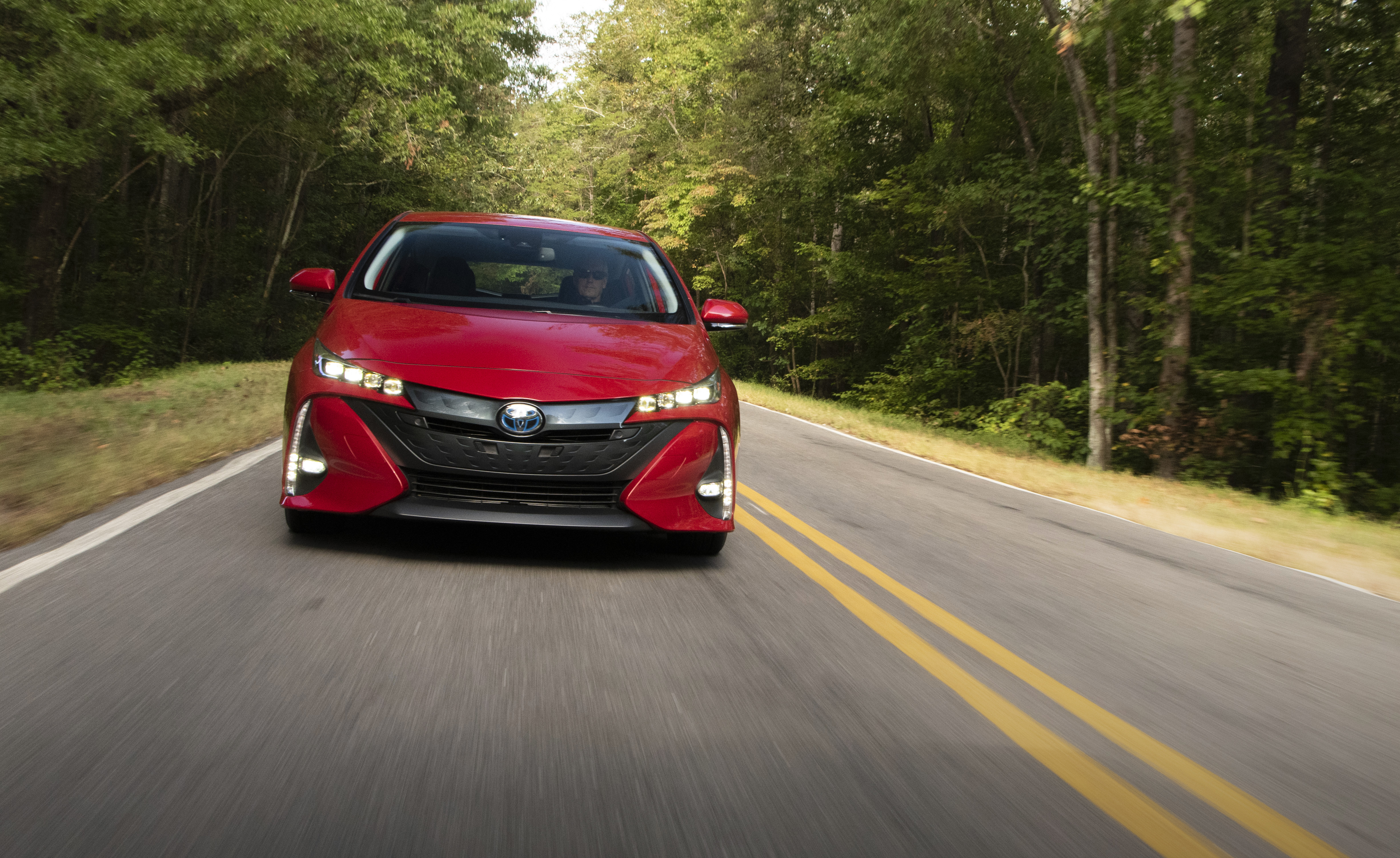 the 2021 toyota prius prime adds safety and tech while