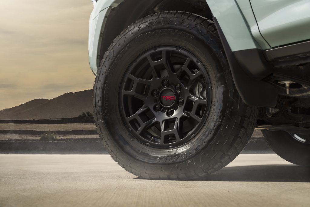 2021 Toyota 4Runner TRDPro wheels and tires