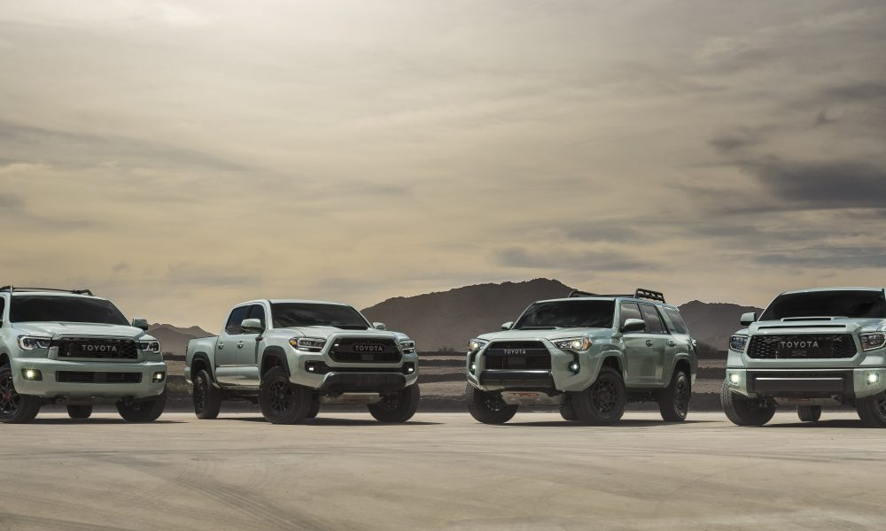 TRD Pro to add 'Out of this World' Color for 2021 Models