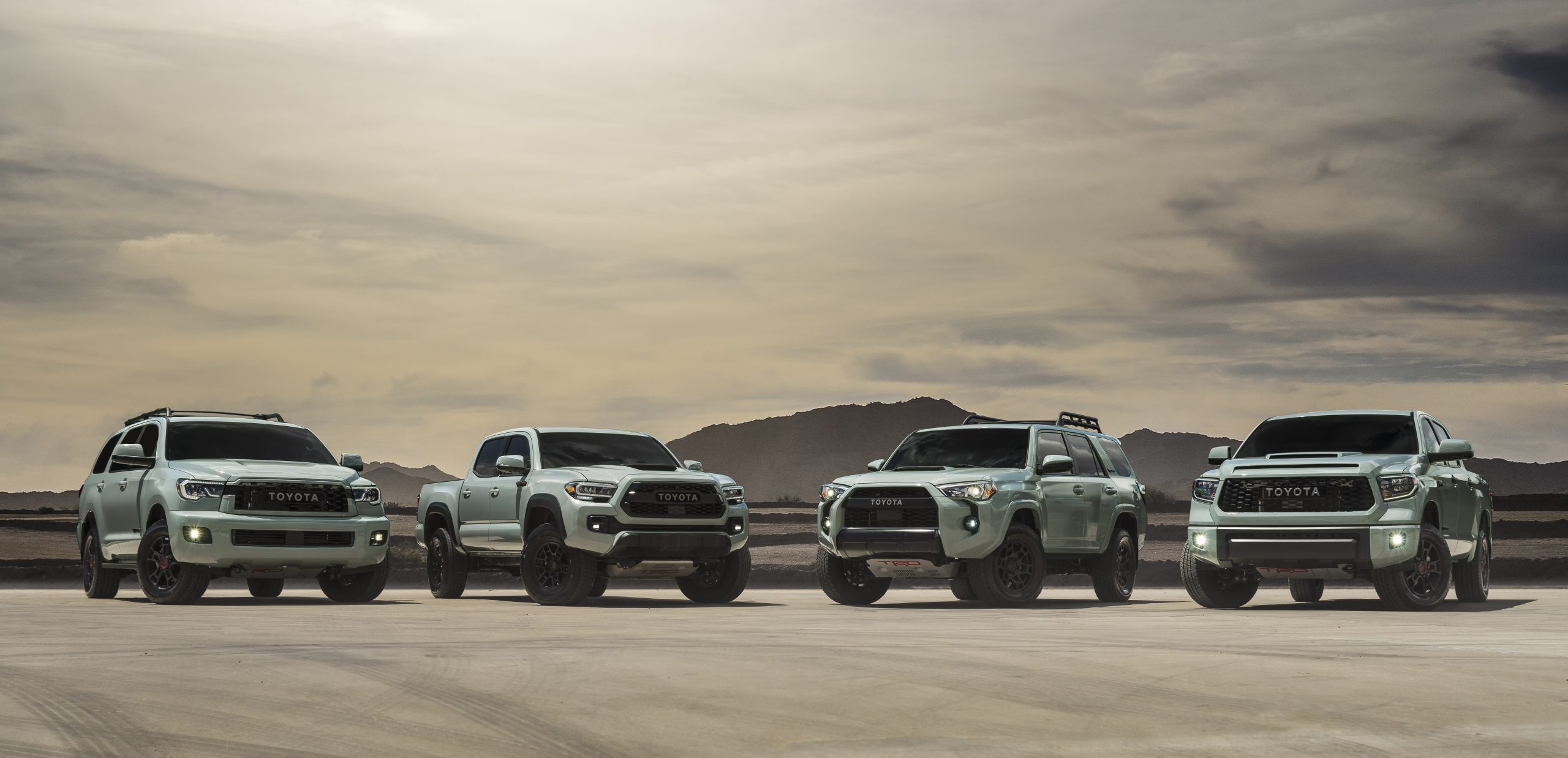 Trd Pro To Add Out Of This World Color For 2021 Models Toyota Usa Newsroom