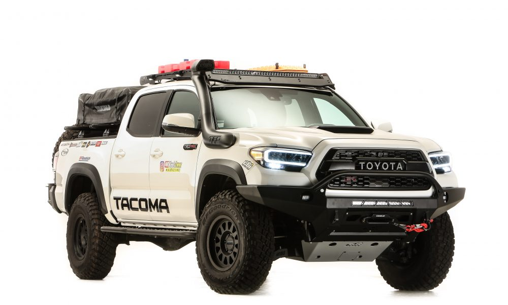 4WD Toyota Owner Magazine Overland-Ready Tacoma Chases Adventure