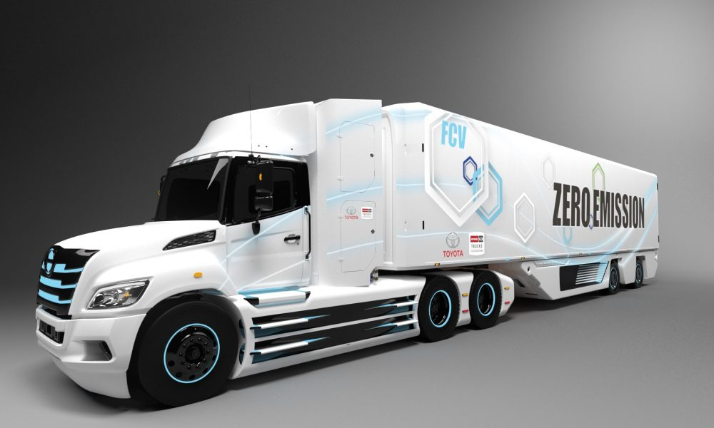 Toyota and Hino Truck to Jointly Develop Class 8 Fuel Cell Electric Truck for North America