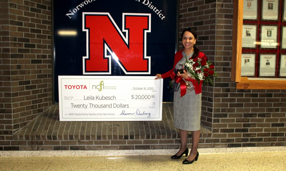 Cincinnati Educator Named National Family Teacher of the Year