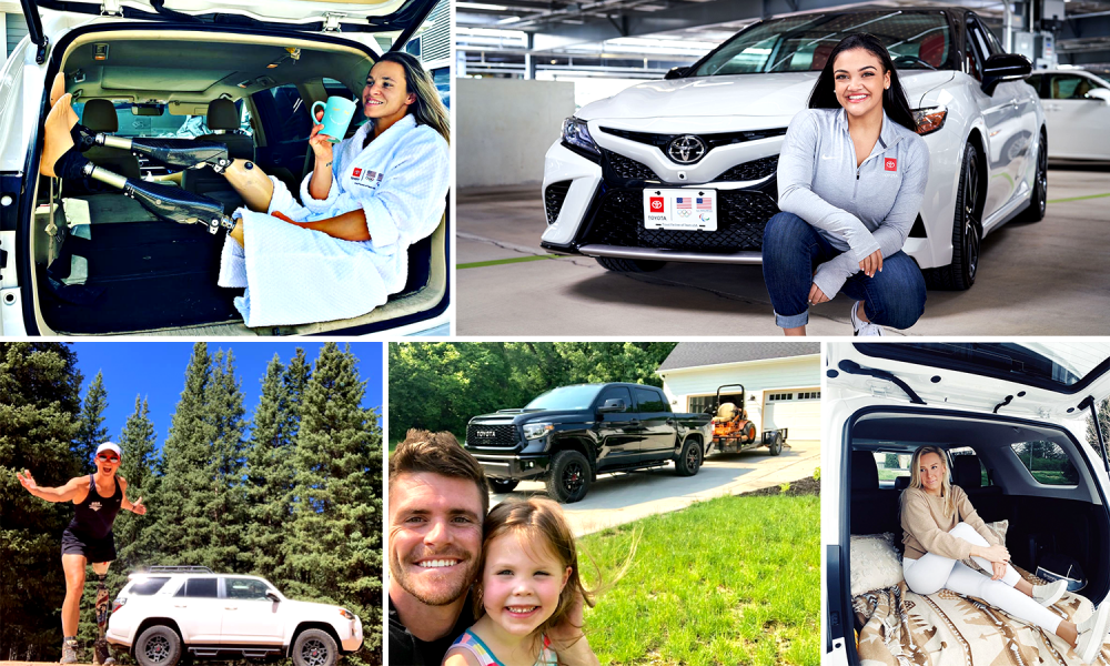 Team Toyota Athletes Name Their Vehicles – Do You?
