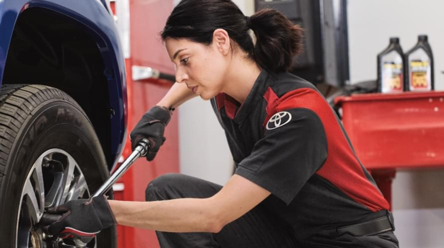 Toyota's T-TEN Program Takes Technicians Higher