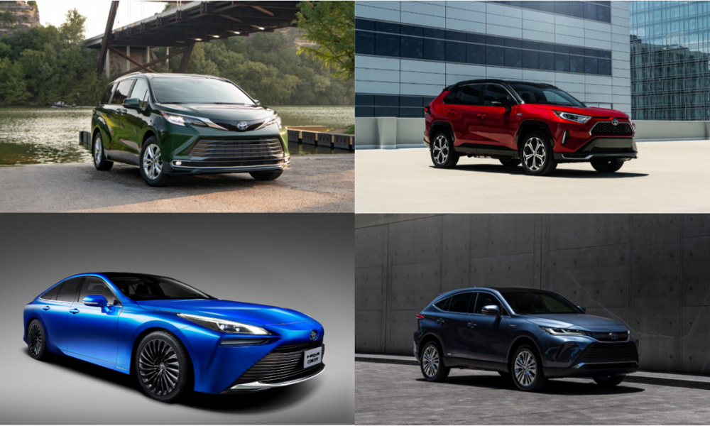 Bevy of Toyota Hybrids + Fuel Cell Get Autotrader's Stamp of Approval