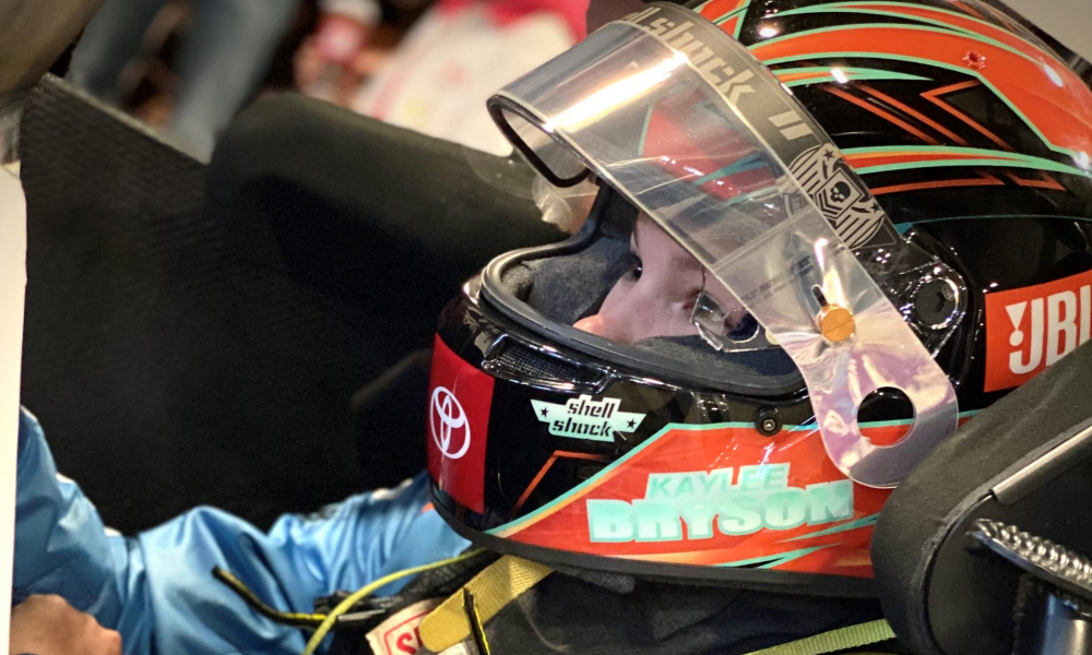 Team Toyota Driver Kaylee Bryson Breaks Out of the Pack
