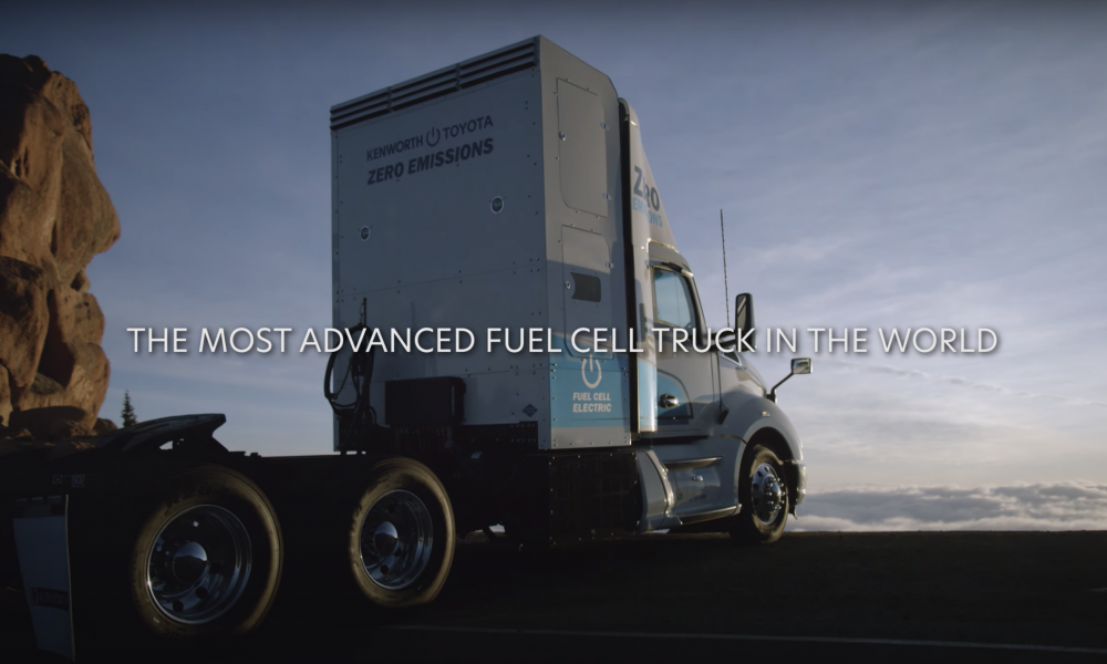Kenworth Truck Makes History at Pikes Peak With Help From Toyota