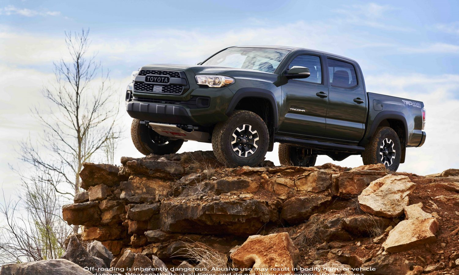 Step Up: New Tacoma TRD Lift Kit Now Available