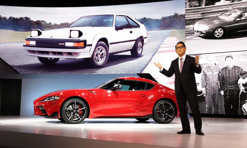 Toyota President Akio Toyoda Honored as the 2021 World Car Person of the Year