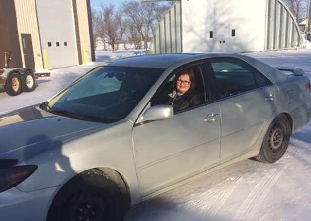 Pauline Christiuk, Toyota Camry