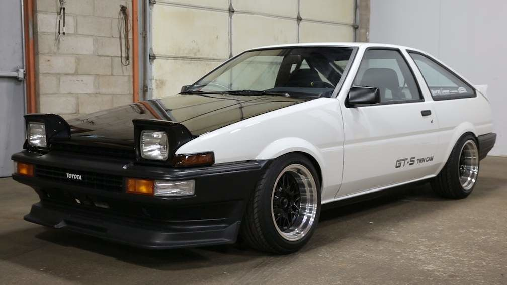 Refurbished Toyota AE86