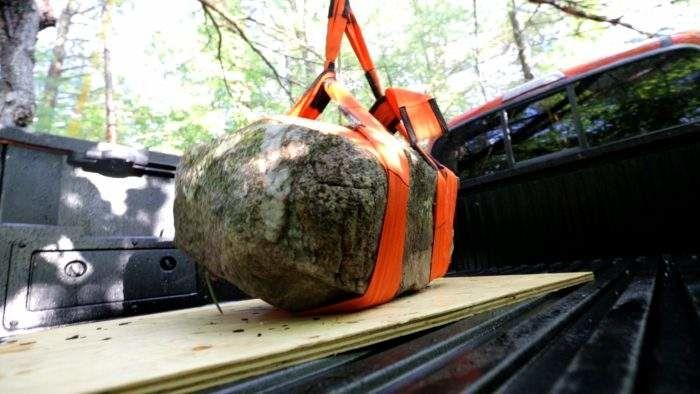 Sebastian Clovis Boulder on Toyota Tacoma Truck Bed