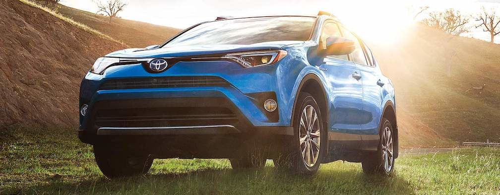 Fuel Efficient RAV4 Hybrid Limited in Blue 1008