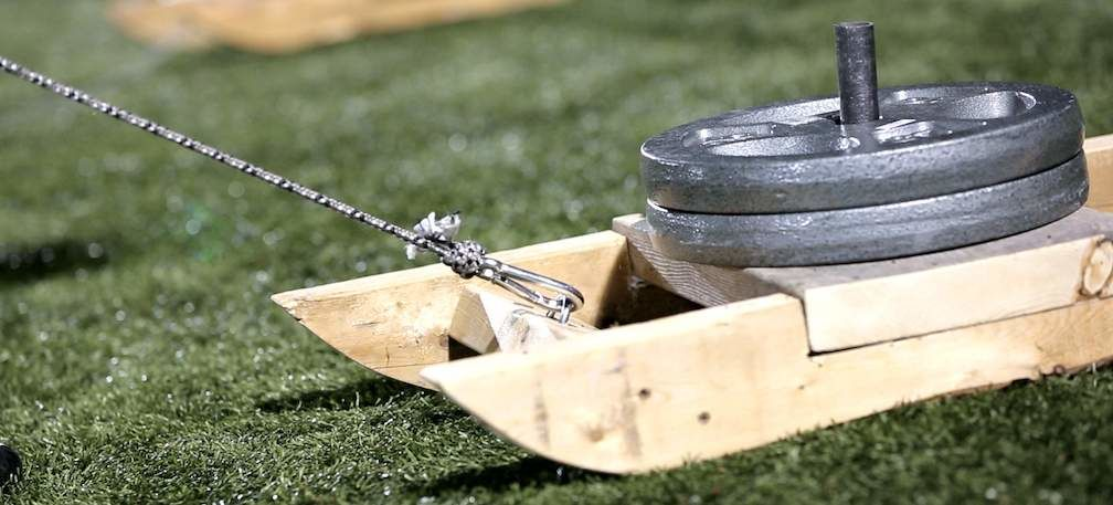 Completed Weight Sled
