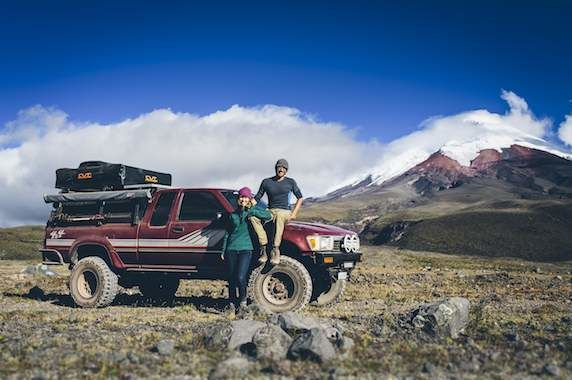 Meet the couple who drove to South America and back