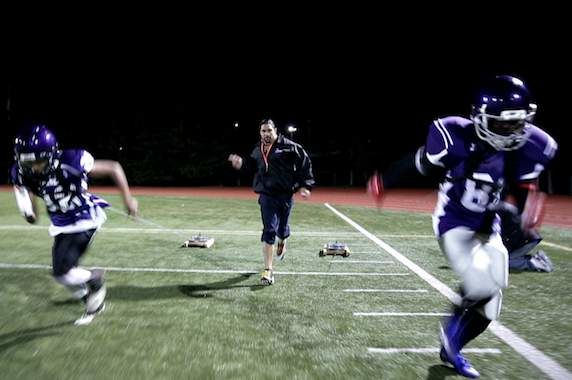 Comment un Tacoma a aidé à transformer un entraînement de football