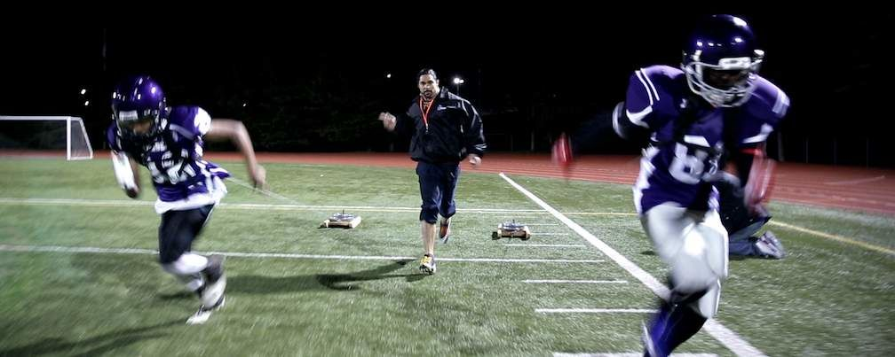 Sebastian Clovis Weight Sled Training