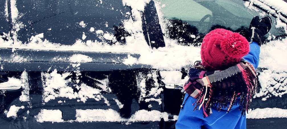 Snow On RAV4