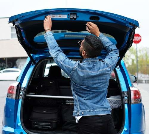Loading RAV4 Trunk