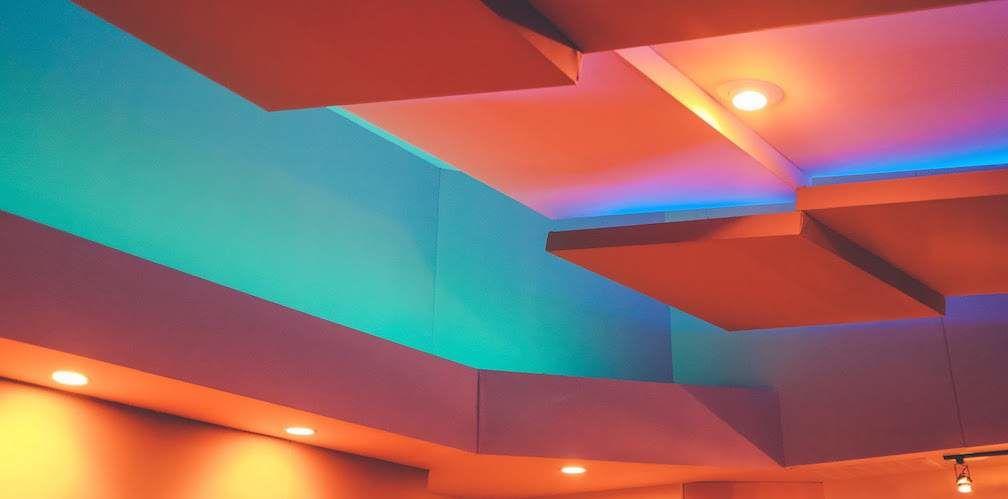 Lit Ceiling