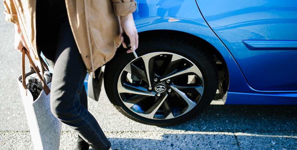 Toyota Corolla iM Hatchback Wheel