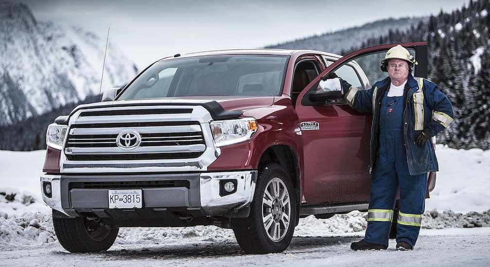 Jamie Davis with Toyota Tundra