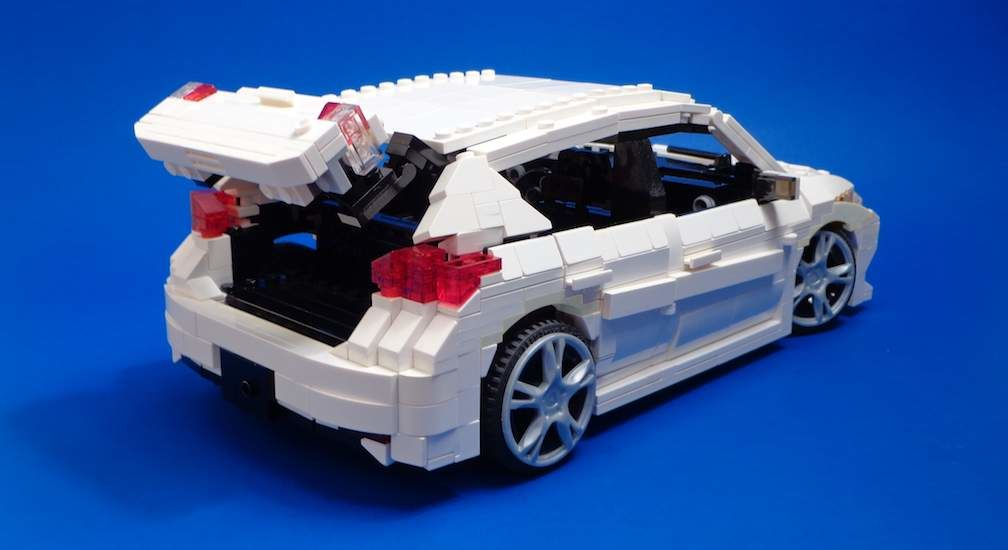 Corolla iM Made from Lego
