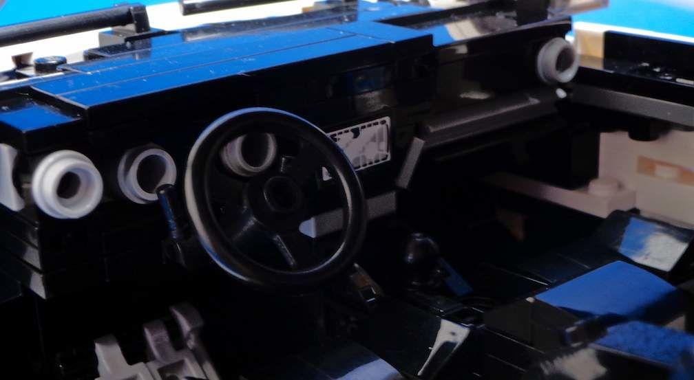 Lego Toyota Corolla iM Interior