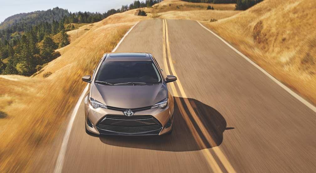 Toyota Corolla in Falcon Grey Metallic
