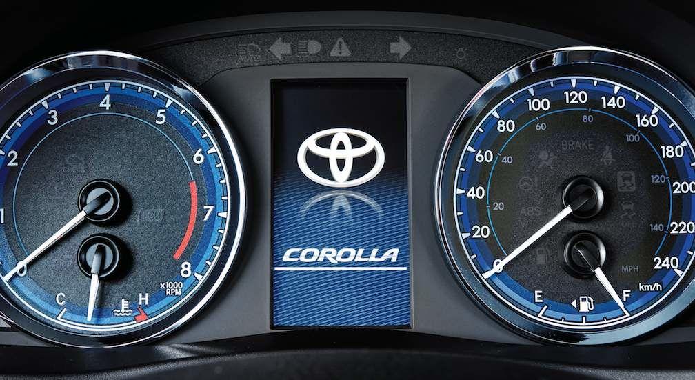 Toyota Corolla Instrument Panel