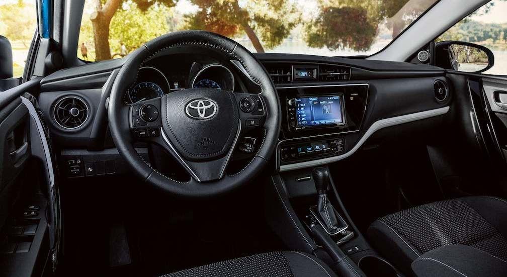 Corolla iM Interior Dashboard