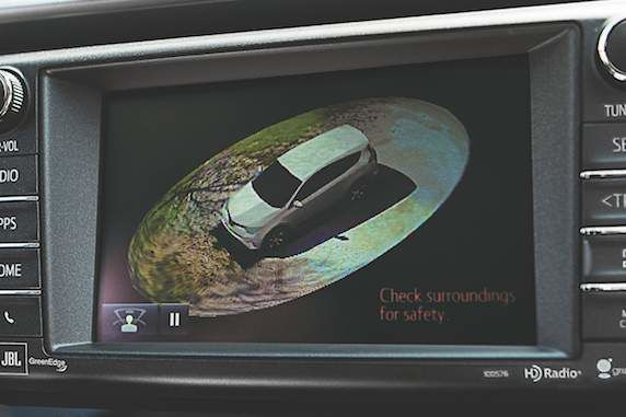 RAV4 Birds Eye View Camera Display