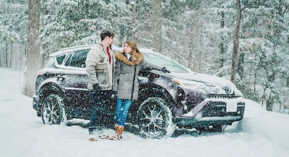 RAV4 In Snow