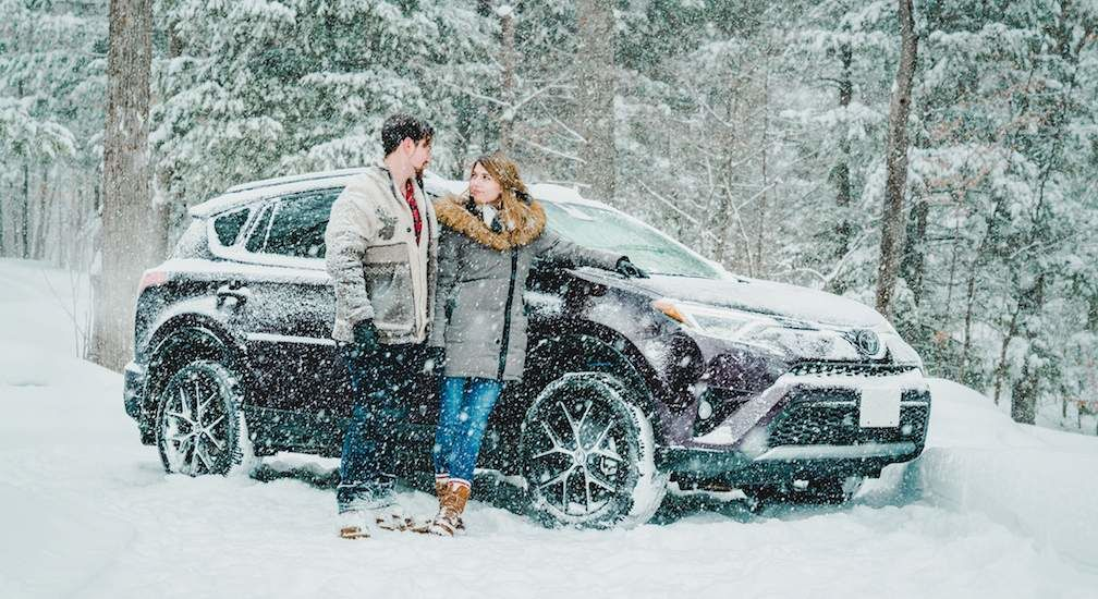RAV4 In Snow