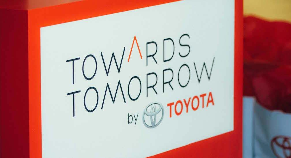 Towards Tomorrow by Toyota: Where to Find the Toyota Pop-Up Gallery