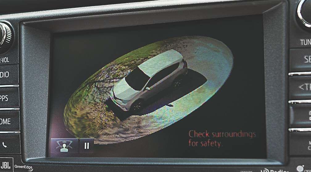 Toyota Birds Eye View RAV4