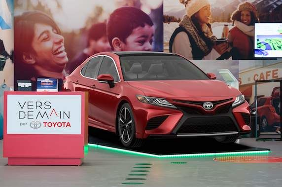 Vers demain de Toyota: Où trouver les galeries de marque de Toyota