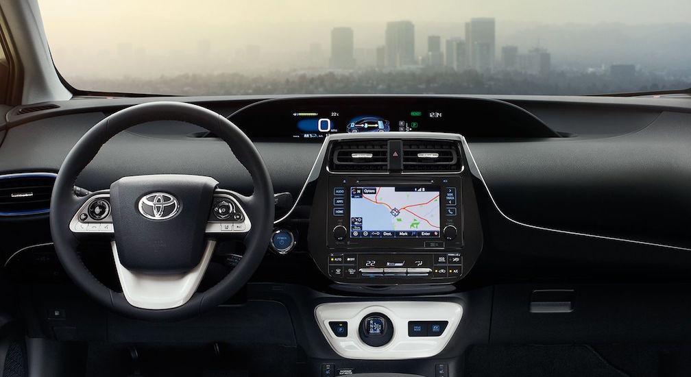 Toyota 2018 Prius Interior Dashboard