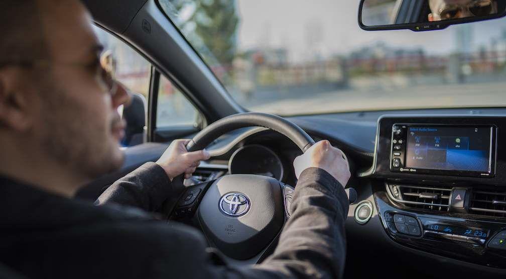 C-HR Steering Wheel and Audio Display