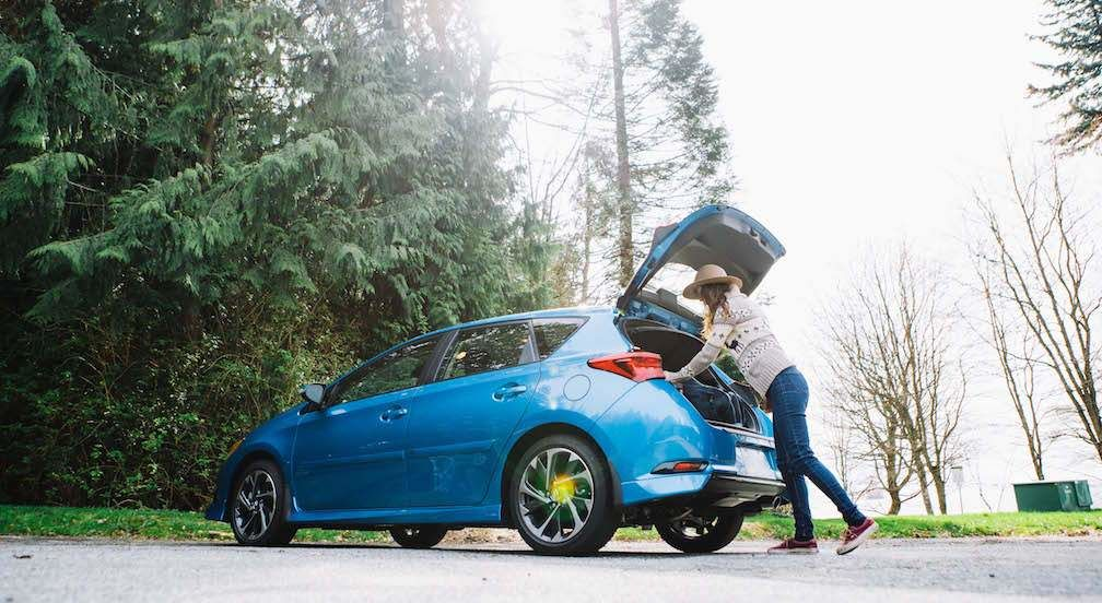 Corolla iM Hatchback with Trunk Open 1