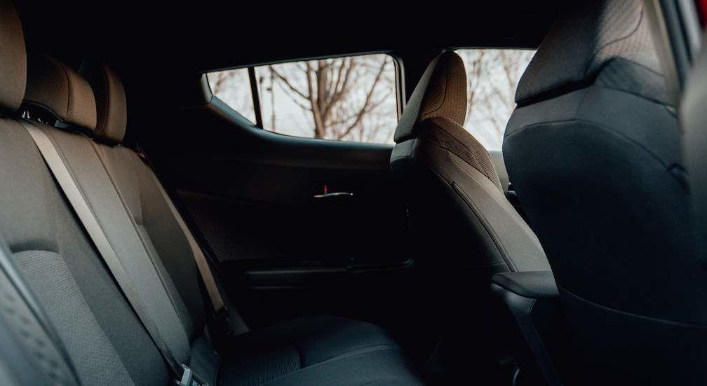 Toyota C-HR Interior Rear Passenger Seats