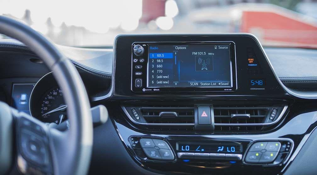 Toyota C-HR Interior Display Audio System